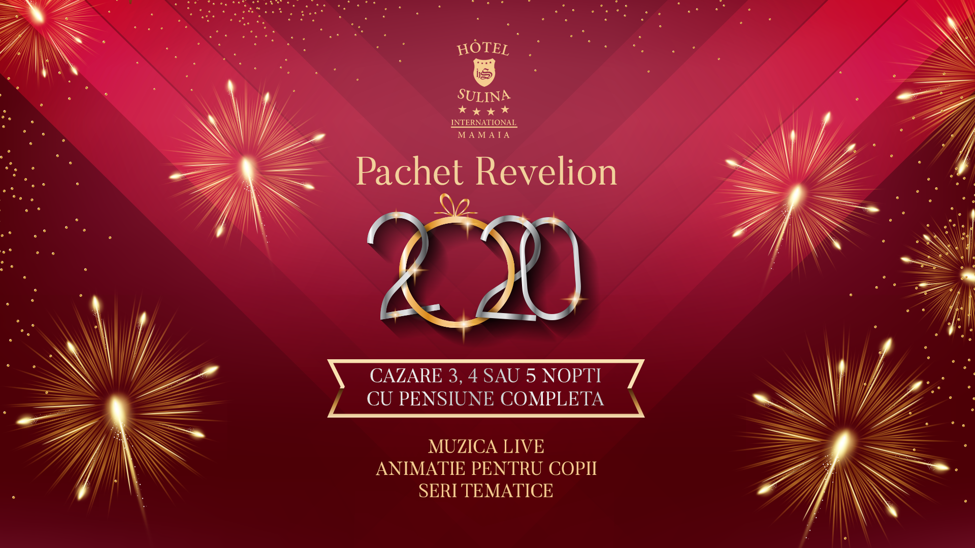 Revelion 2020 la Hotel Sulina International - Mamaia